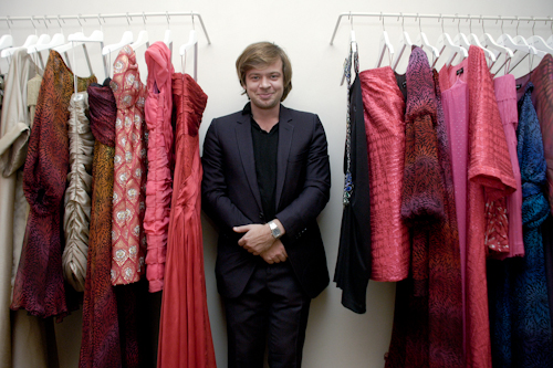 Jonathan Riss at his NYC Atelier
